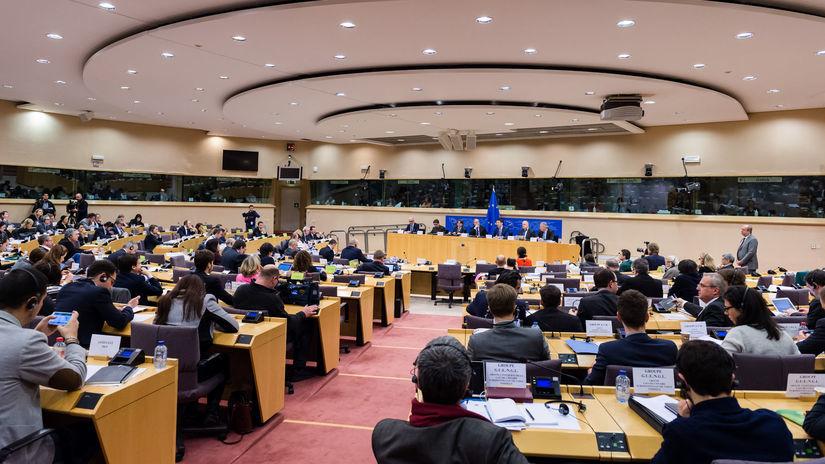 Európsky parlament, europarlament, Brusel,...
