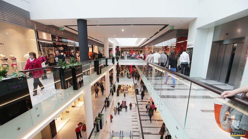 nákupné centrum, nakupovanie, obchod
