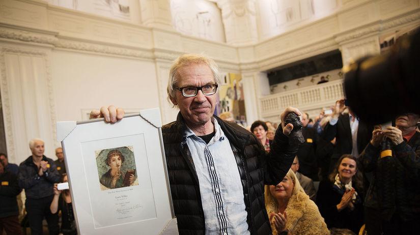 Lars Vilks, karikaturista,