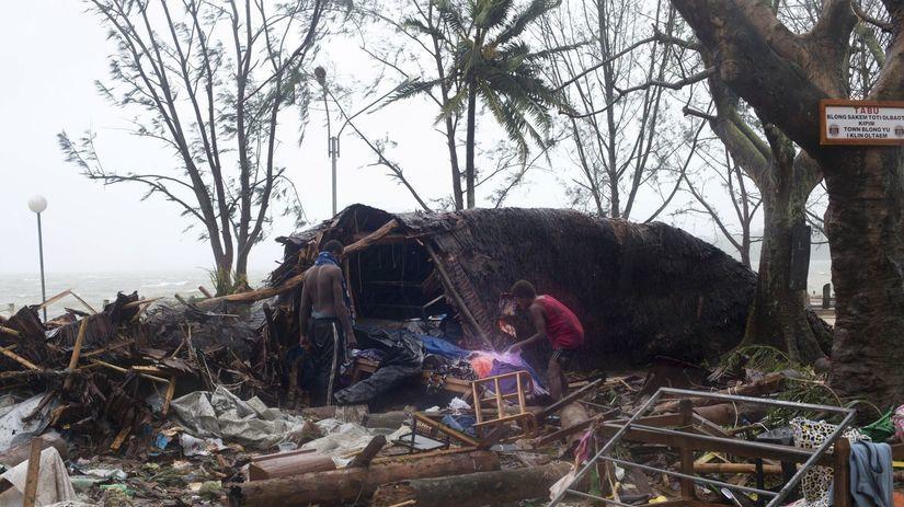 Vanuatu, tropická búrka Pam