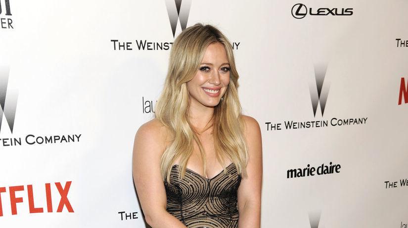 Herečka a speváčka Hilary Duff.