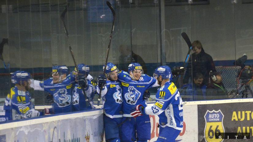 Poprad, hokej, radosť