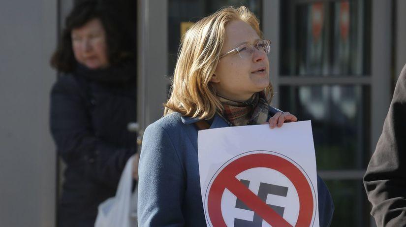 stop nacizmu, antinacisti, antifašiti, Rusko,...