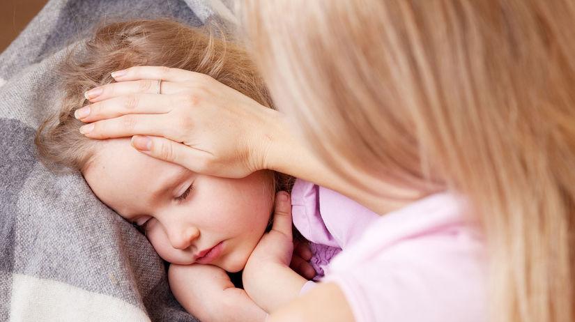 dieťa, choroba, infekcia, teplota
