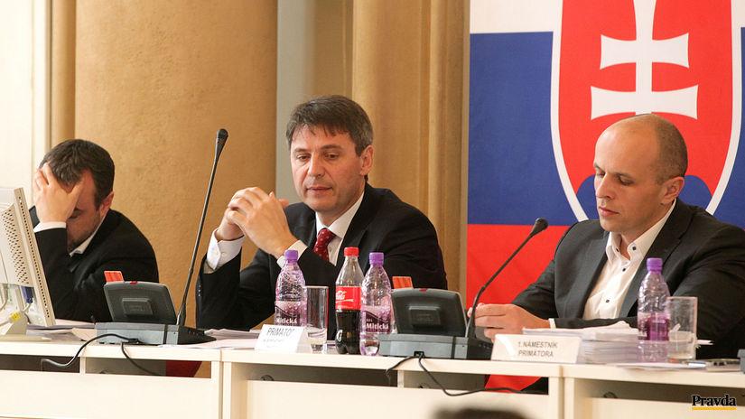 Ivo Nesrovnal, Bratislava, mestské...