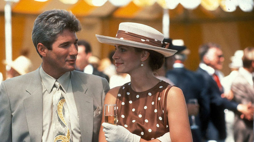 Julia Roberts a Richard Gere