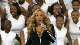 Rok 2005: Speváčka Mariah Carey