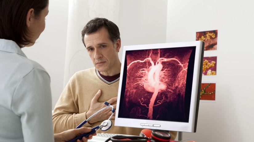 vyšetrenie, diagnóza, srdce, tepny
