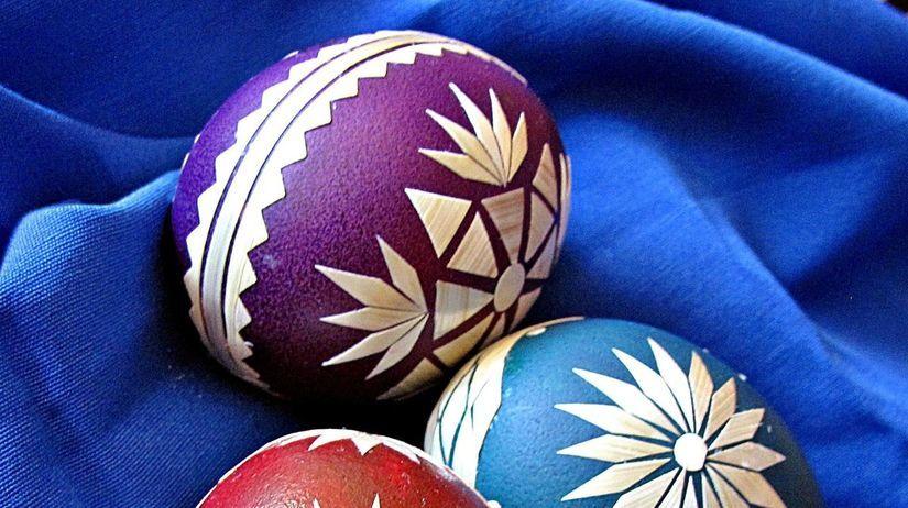 Veľká noc, kraslice, veľkonočné vajcia,...
