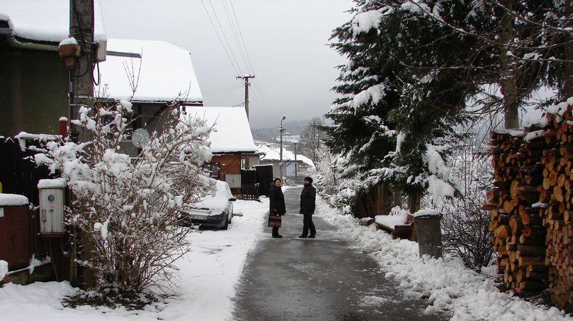 polomka, veľká noc, sneh, počasie