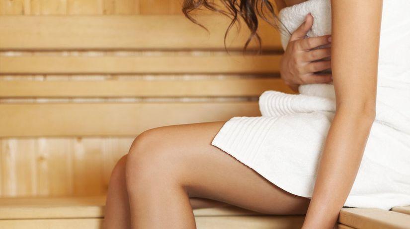 sauna, nohy, žily