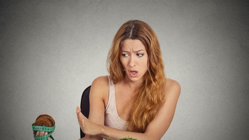 stres, chudnutie, diéta, priberanie