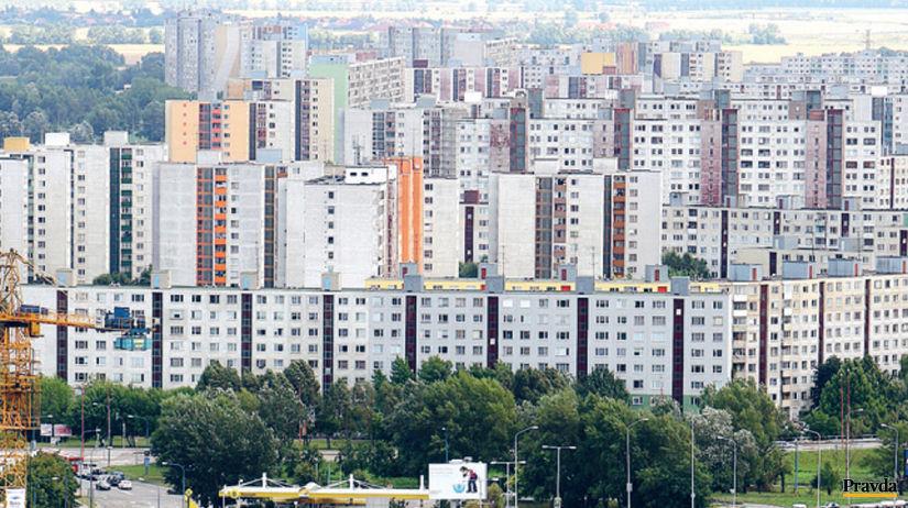 panelák, byt, bývanie