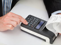 vrp, pokladnica, blok, účet, bloček, registračná pokladnica