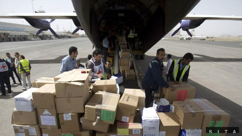 jemen, humanitárna pomoc