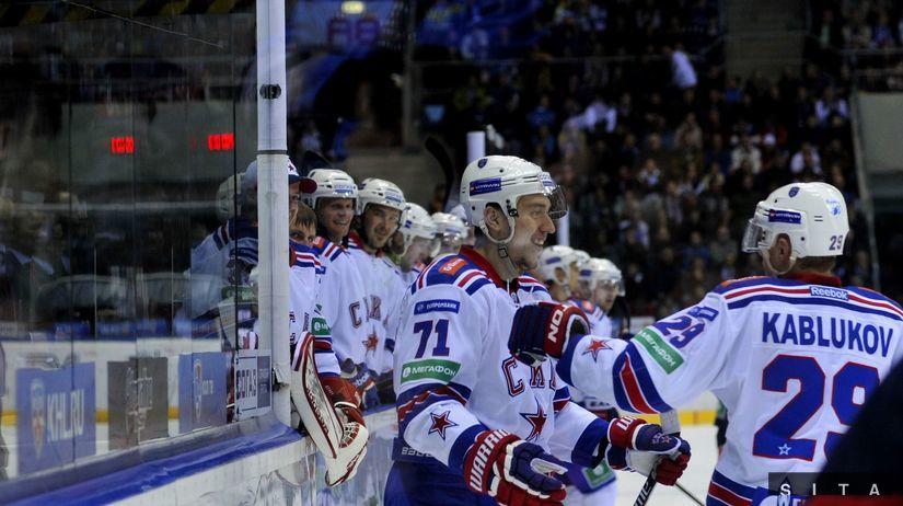 hokej, SKA Petrohrad, radosť