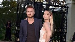 Aaron Paul a jeho snúbenica Lauren Parsekian