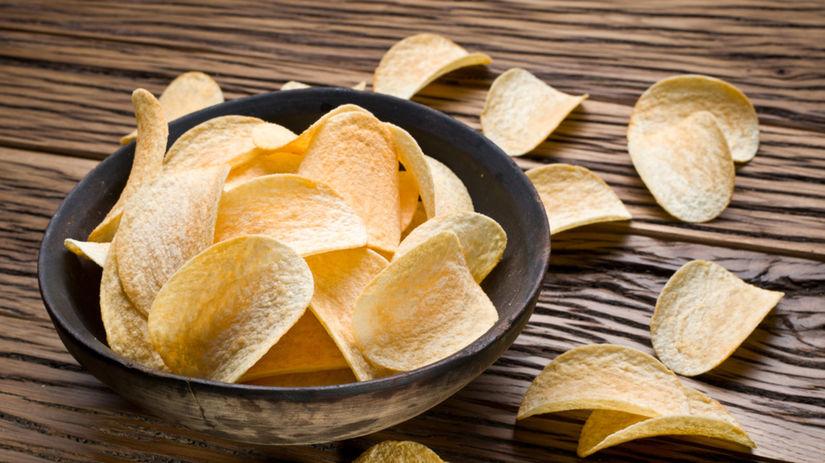 čipsy, chips, chipsy