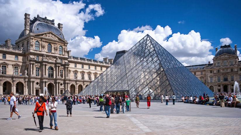 Louvre, Paríž, Francúzsko, La Gioconda, Mona Lisa
