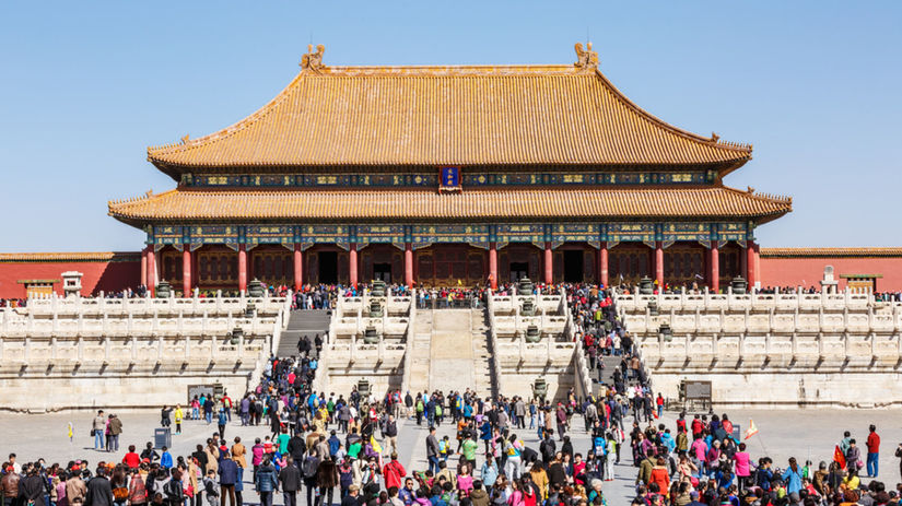 Zakázané mesto, Čína, Peking, cisársky palác
