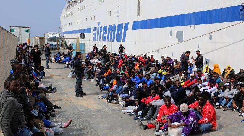 Lampedusa, migranti, utečenci