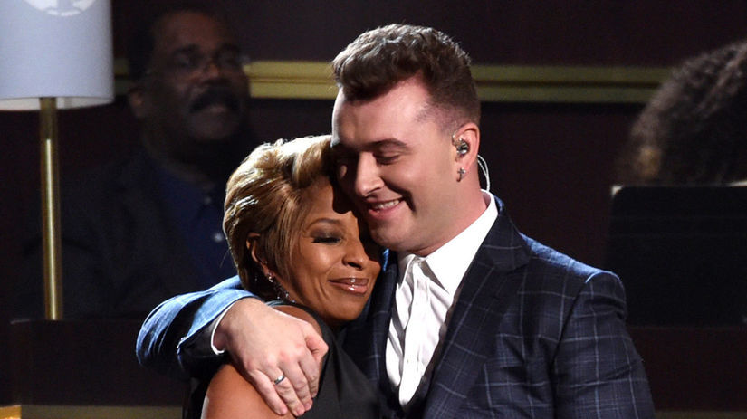 Mary J. Blige a Sam Smith