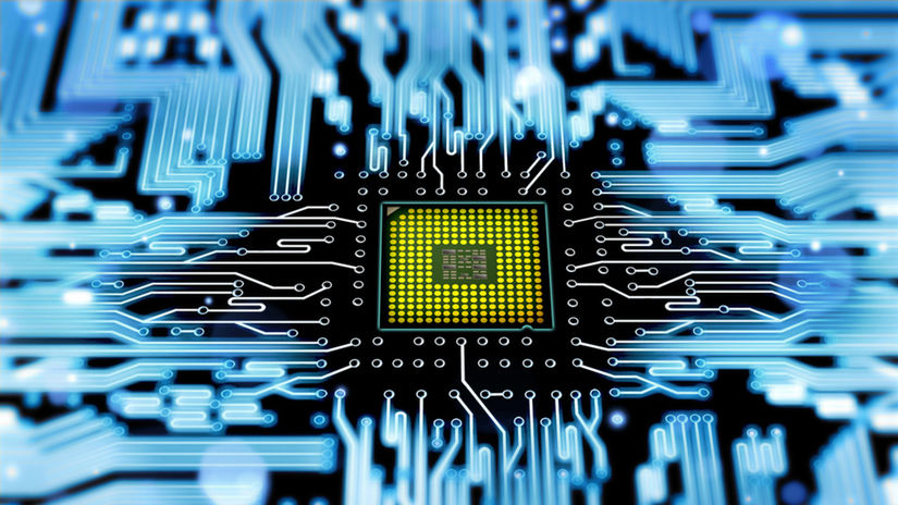 počítač, procesor, CPU, mikroprocesor, čip, Intel