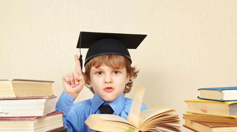 dieťa, školák, žiak, kniha, promócia