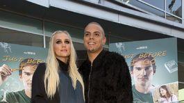 Evan Ross a jeho manželka,  Ashlee Simpson