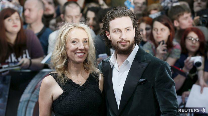 Herec Aaron Taylor-Johnson a jeho manželka -...