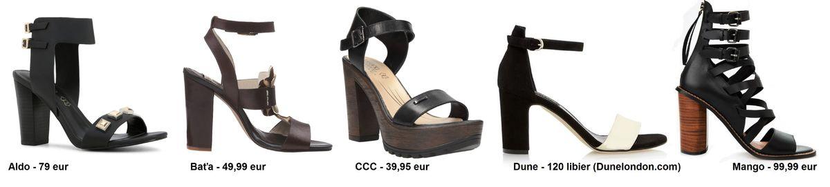 c23dde9413d9 Sandále na hrubom podpätku  Máme 25 tipov na hitovú obuv sezóny ...