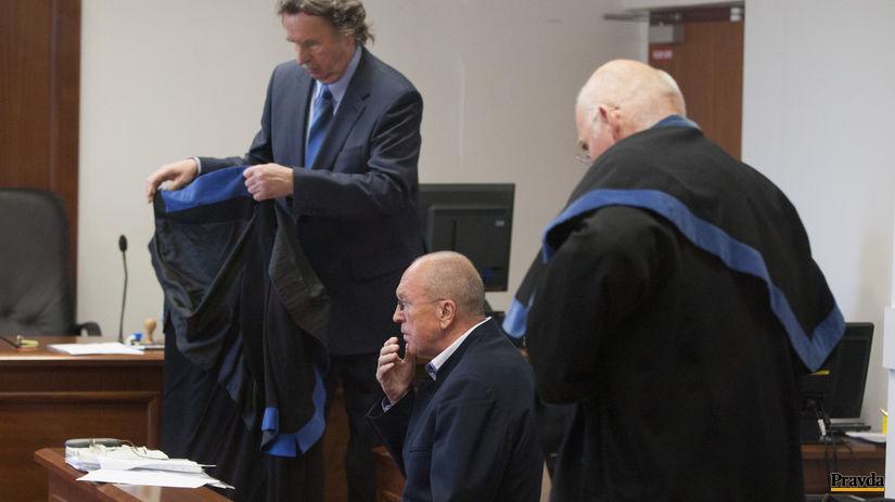 súdne pojednávanie, Viliam Fischer, obhajcovia