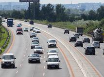 diaľnica, D1, cesta, vodiči