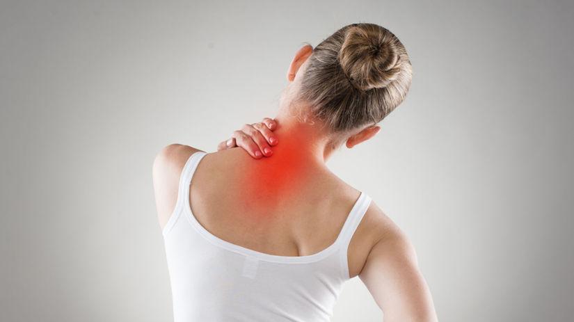 chrbát, bolesť