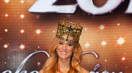Miss Slovensko 2015 Lujza Straková.