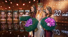 Petra Denková, Miss Slovensko 2015 Lujza Straková z Banskej Bystrice a prvá vicemiss Barbora Bakošová