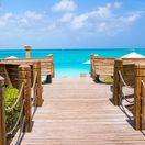 Providenciales, ostrov, more, slnko, leto, kúpanie, dovolenka