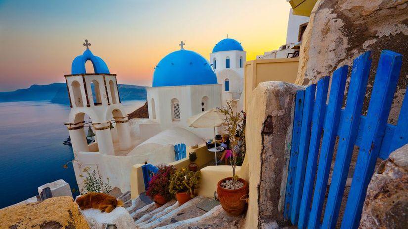 Santorini, ostrov, more, slnko, leto, kúpanie,...
