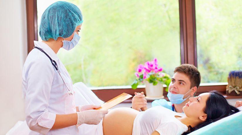 pôrod, tehotenstvo, rodička,