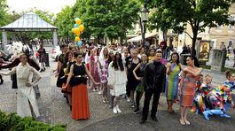 Fashion Marš v Bratislave.