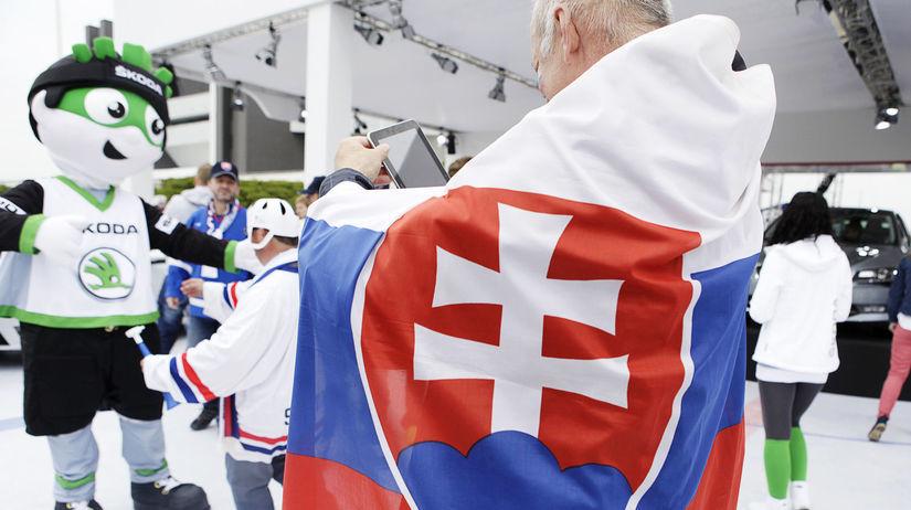 Slovenskí fanúšikovia,