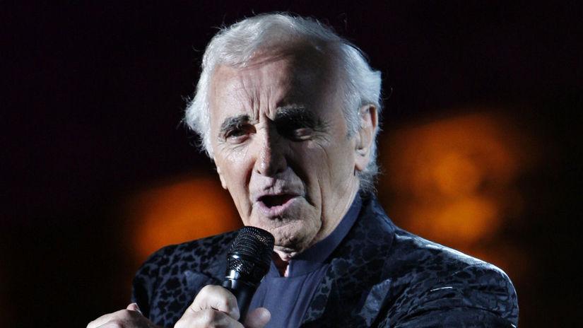 Šansonier Charles Aznavour.