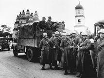 1941, 2. svetová vojna, slovenskí vojaci, armáda, novosibirsk, rusko