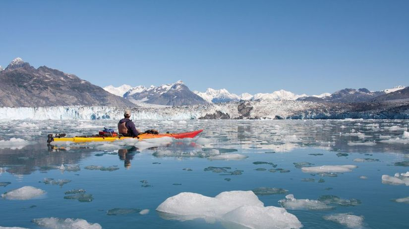 Columbia Glacier, ľadovec, ľad, Aljaška, zima,...