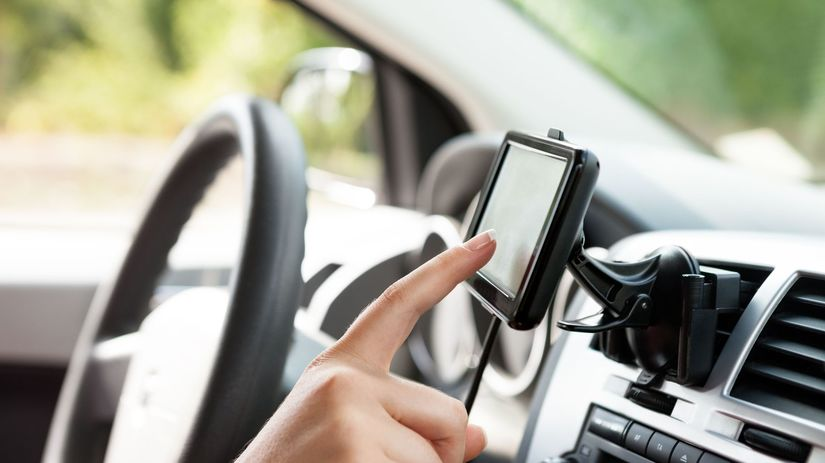 GPS, navigácia, auto, šofér, šoférovanie,...