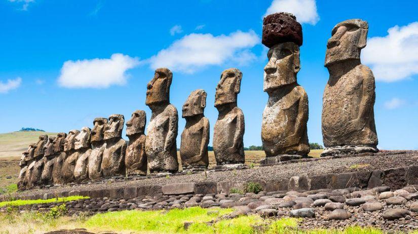 sochy moai, Veľlkonočný ostrov,