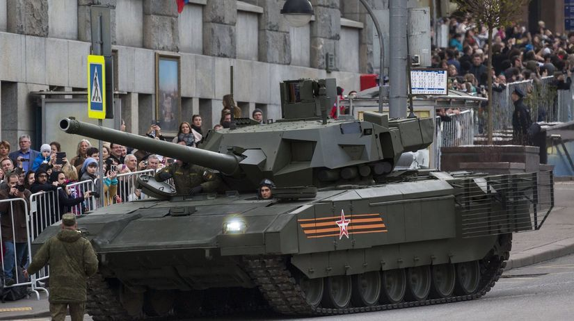 tank T-14 Armata, ruská armáda