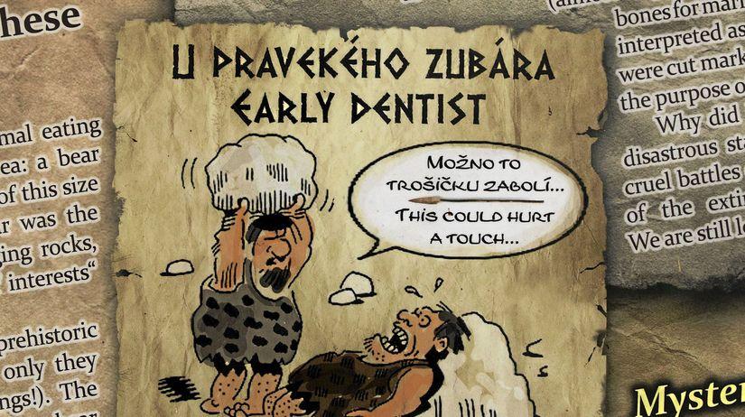 pravek, neandertálci, Bojnice, mamut, homo...