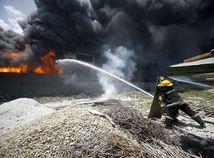 filipíny, manila, požiar, továreň