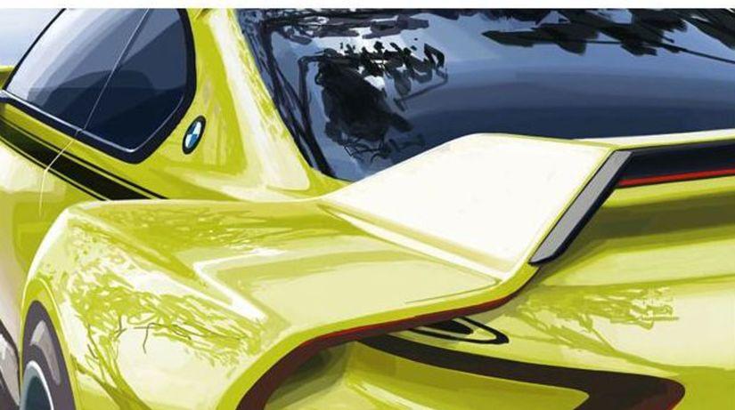 BMW 3,0 CSL Hommage - koncept